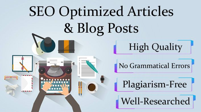 Rebuild your blog/website DNA with 1000 words SEO article
