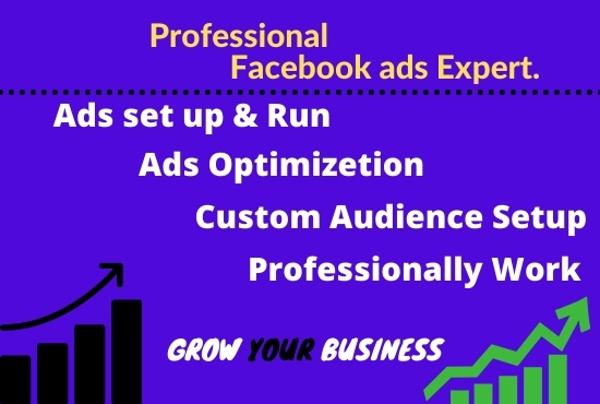 I will setup,  optimize and manage your facebook ads campaign