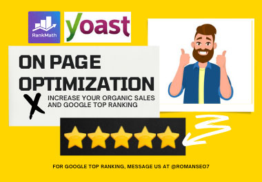 I will complete on page SEO optimization service for google top ranking