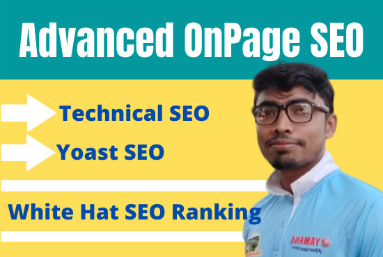 I will do on page seo and technical onpage optimization of wordpress website