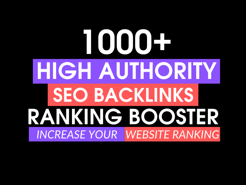 Provide high da link building SEO backlinks for google ranking