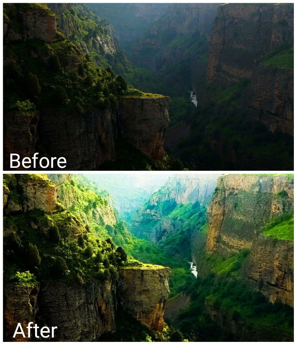 Photo editing,  image enhancement and portrait image retouching.