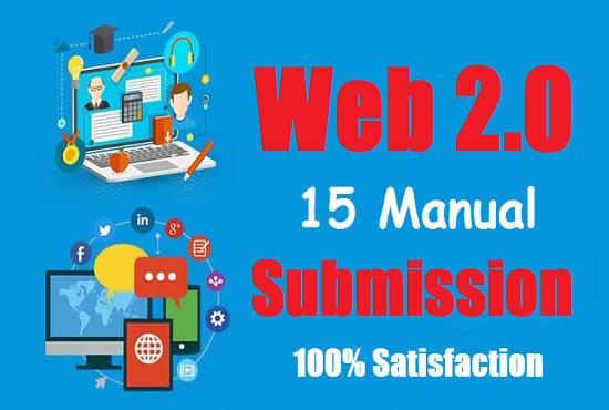 I will provide 25 web 2 0 backlinks for SEO