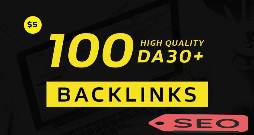 I will build 100 High Authority Dofollow Blog Comments Backlinks DA 30+