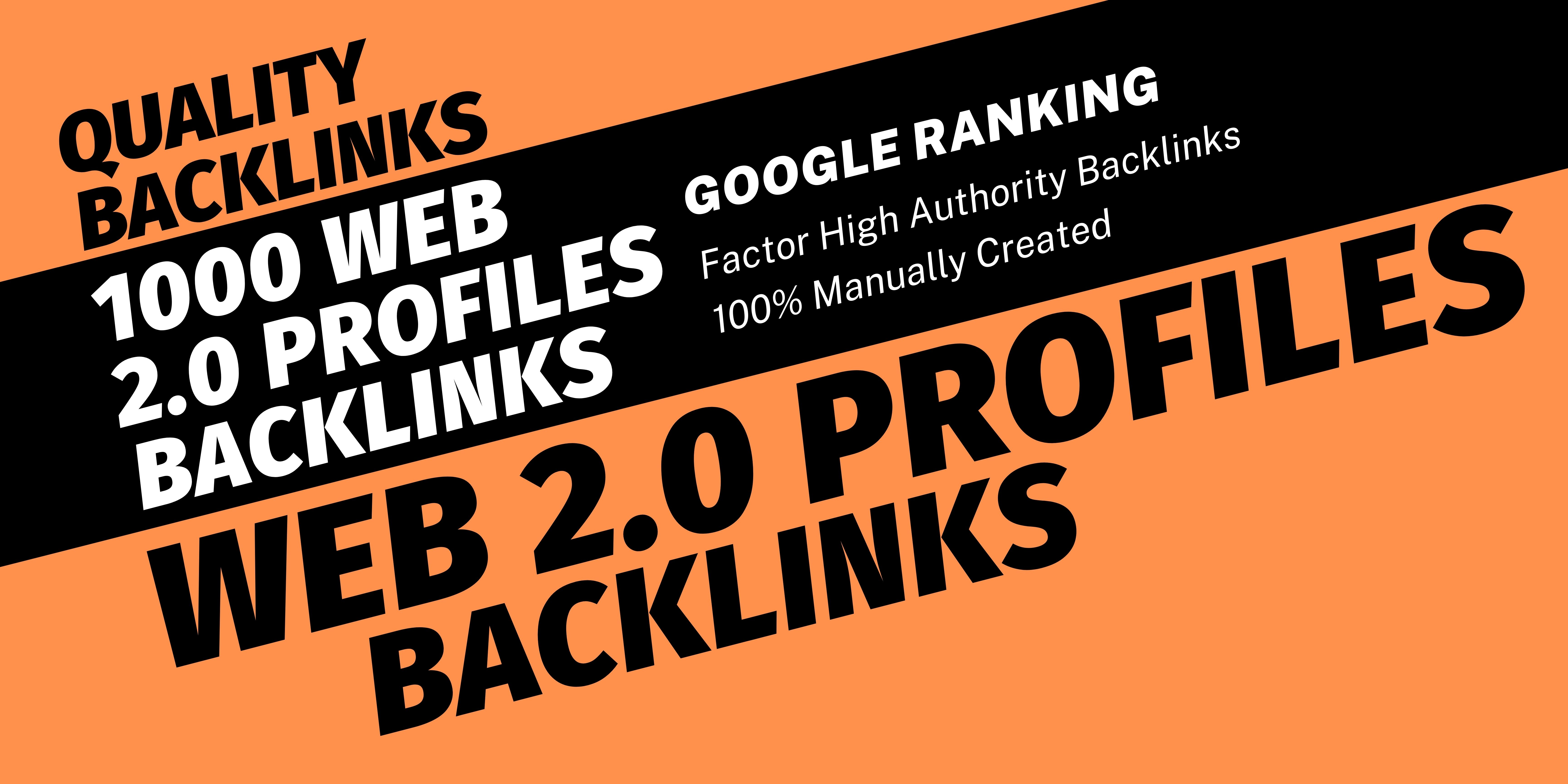 Get 350 WEB 2.0 PROFILE BACKLINKS HIGH AUTHORITY