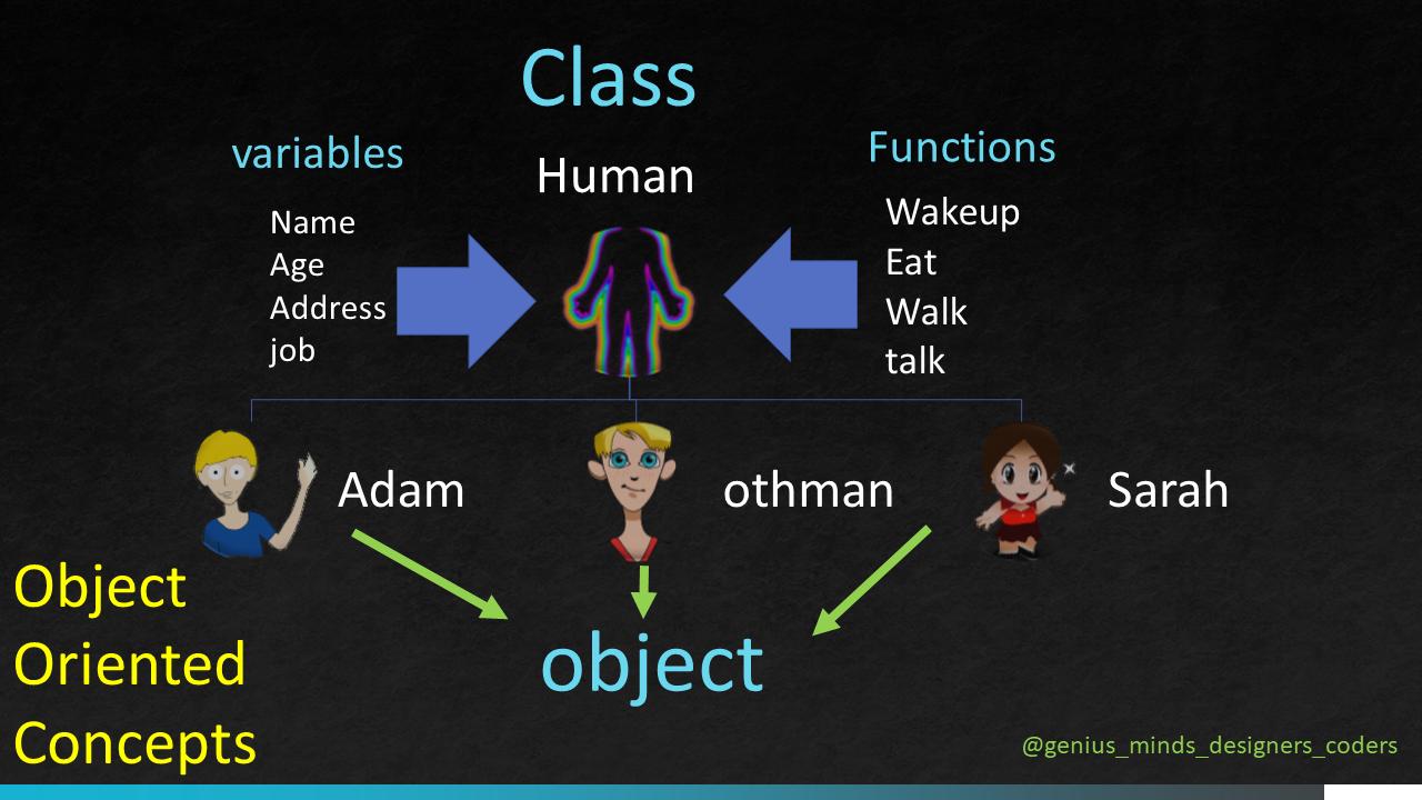 Object oriented concepts full description presentation