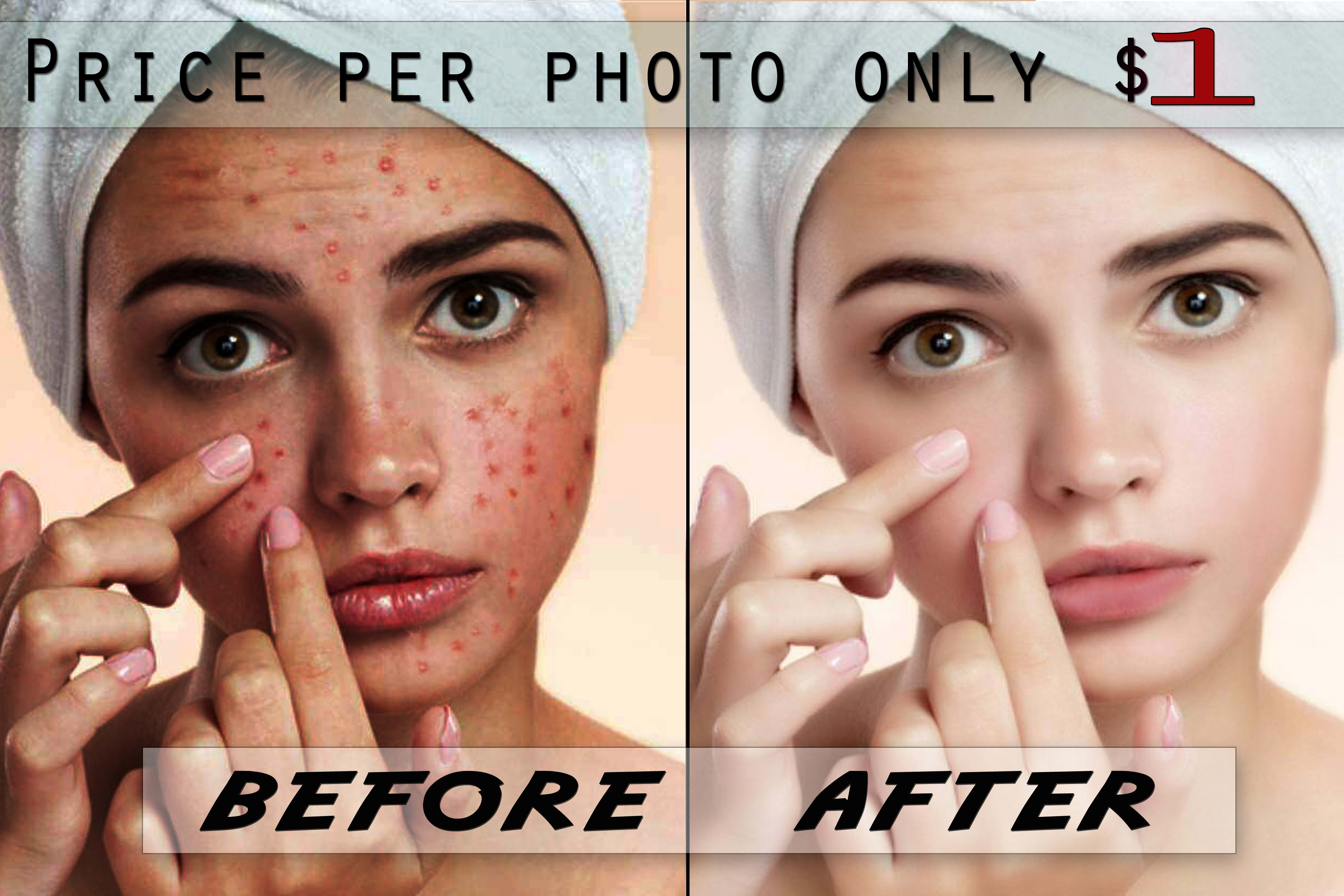 I will retouch photos and edit images with fast delivery