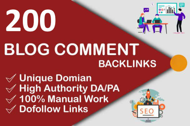 I Will Do 200 Blog Comment HIGH DA PA TF CF Low Spam And OBL