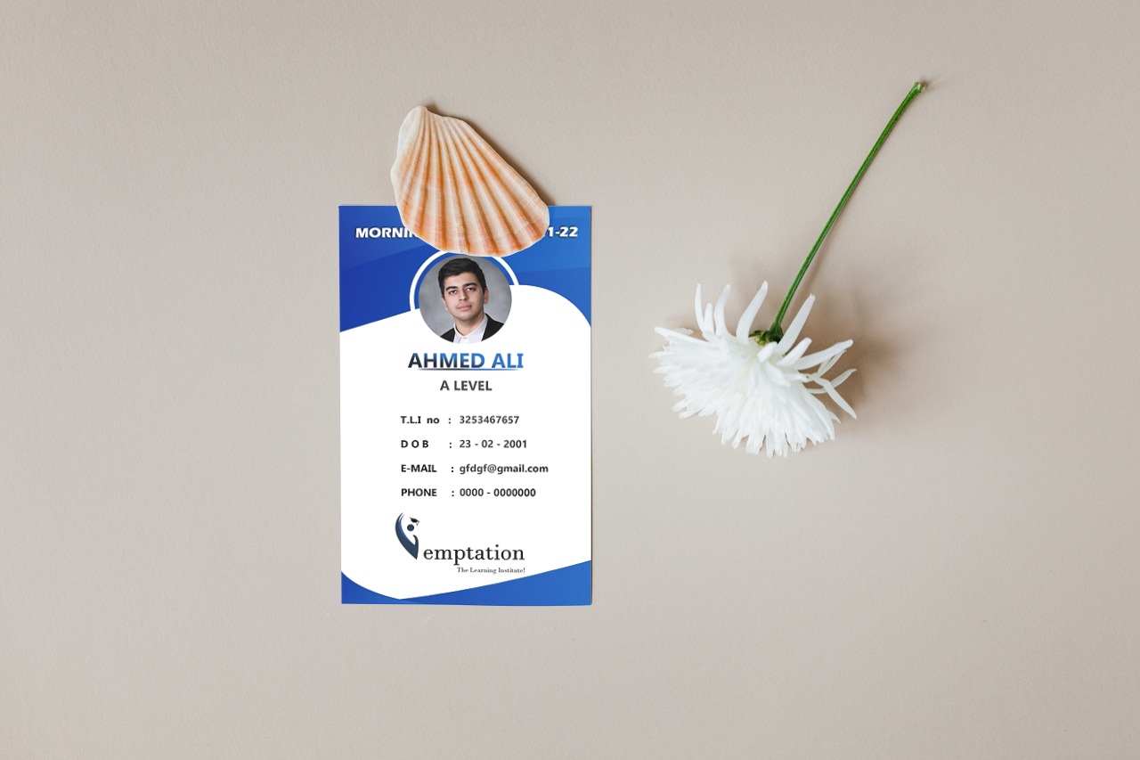 Professional Student Card Designs