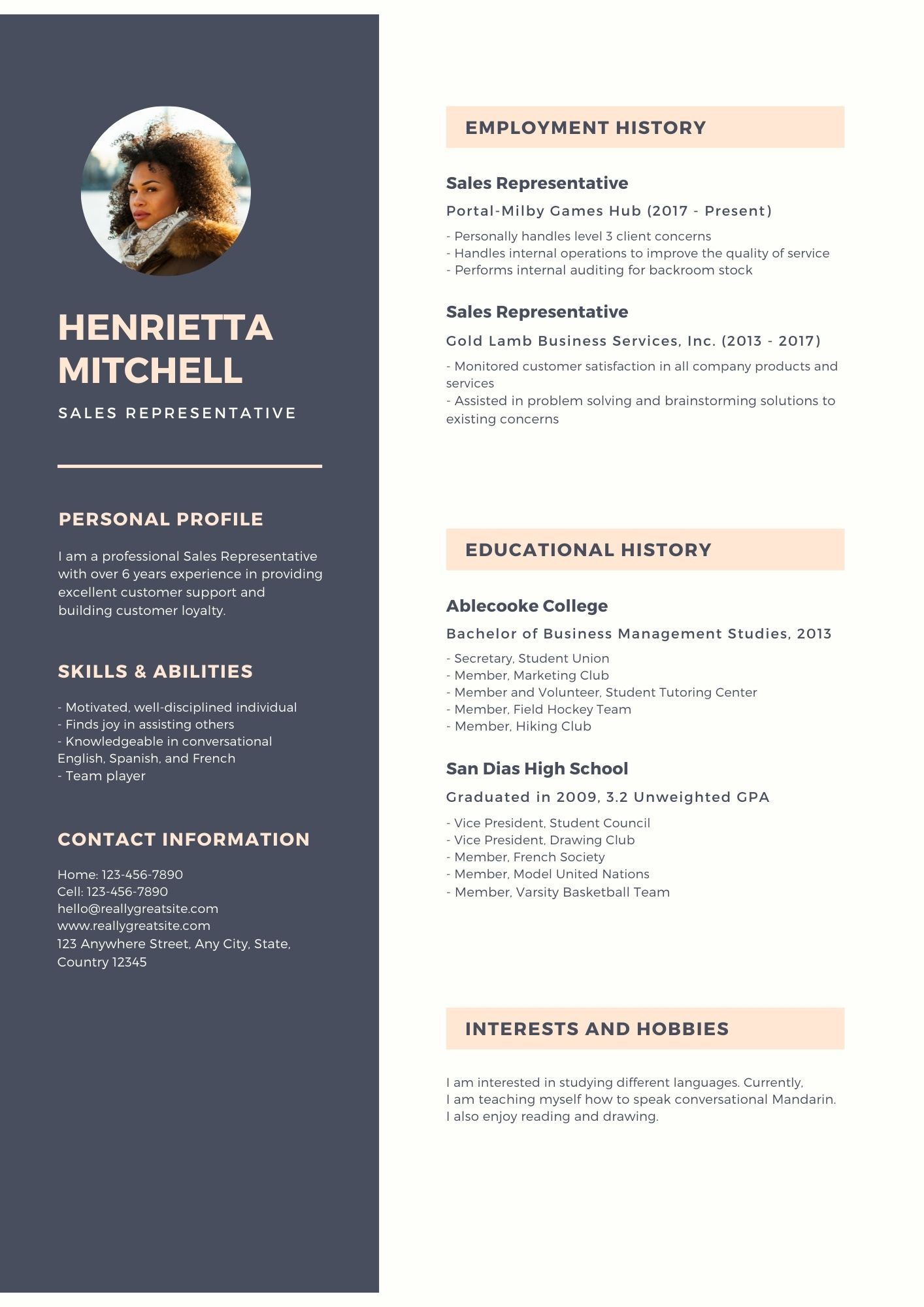 I will make Resume and Job ad for you