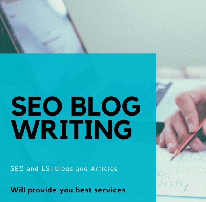 I will be your content writer for SEO blog posts