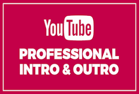 Modern High Quality YouTube Intros or Outros
