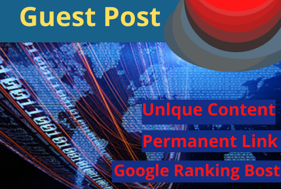 I will Write & publish High Quality 2 Dofollow Guest Posts