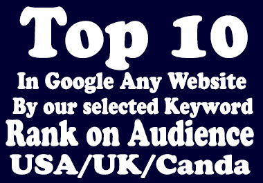 Top 10 on Google by white hat seo