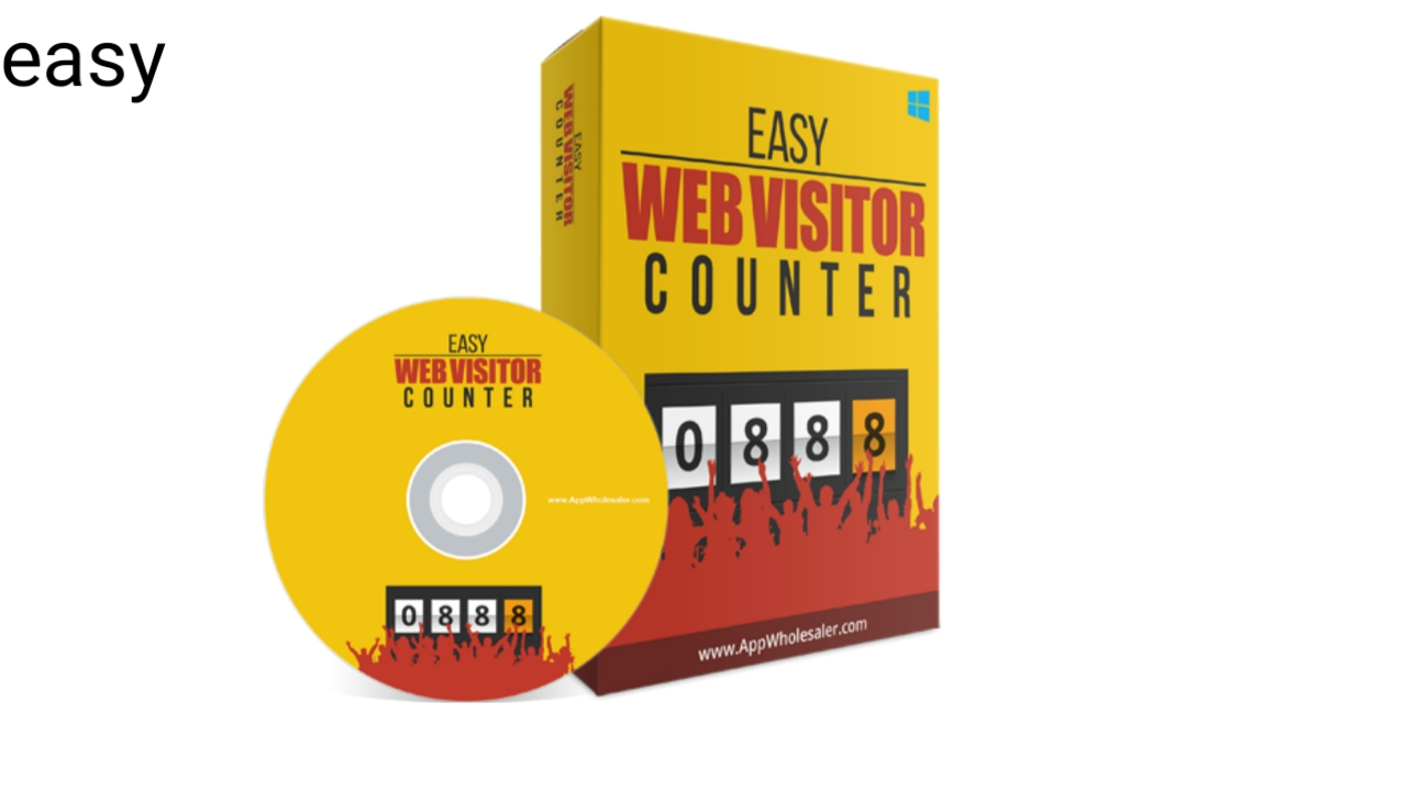 Easy web visitor and counter software