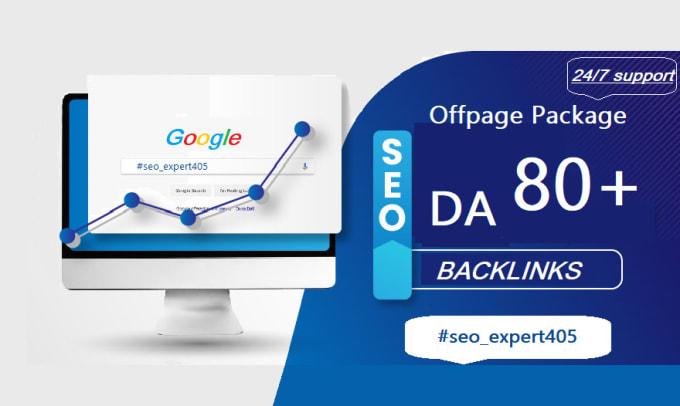 I will do quality da80 manual offpage pr9 seo dofollow backlinks