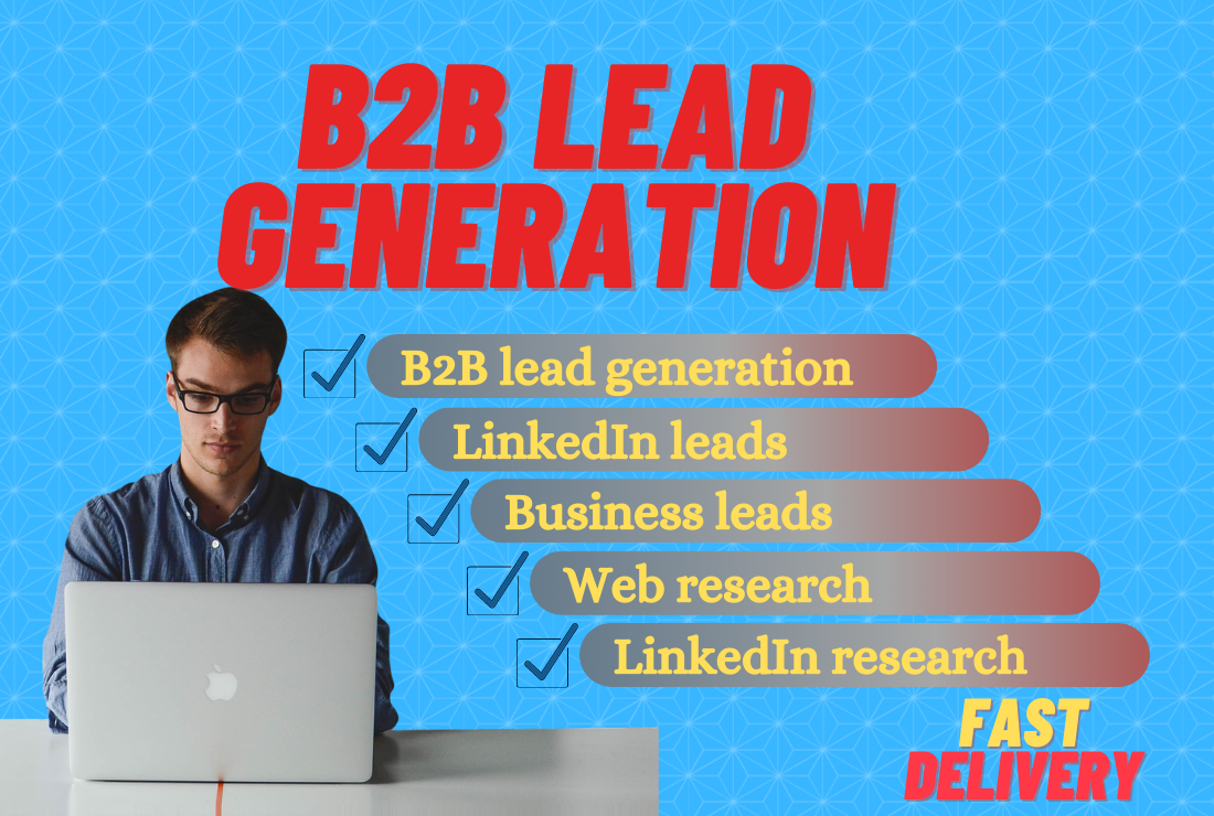 I will do high quality targeted b2b linkedin lead generation