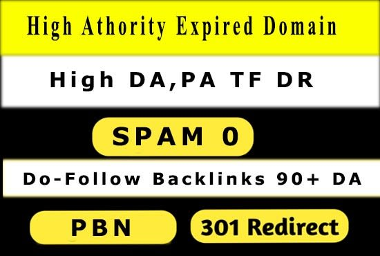 I will explore powerful expired domain with high quality backlinks
