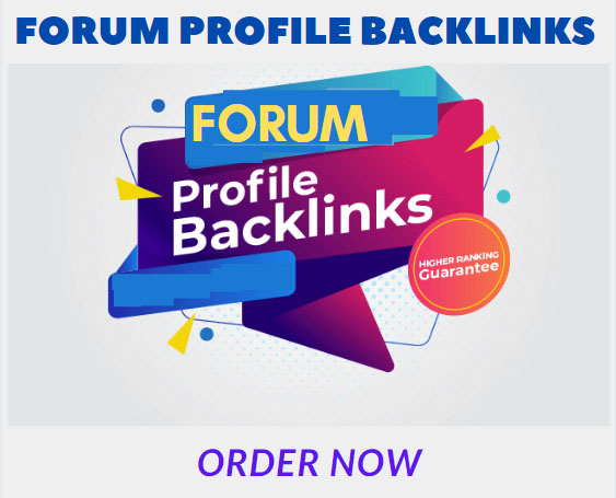 I will create 500 forum profiles backlinks to improve your website