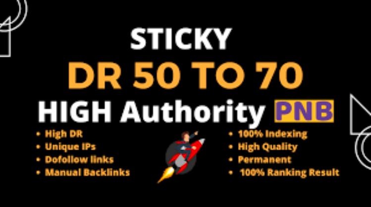 Build 10 DA/50+ Manual HIGH Quality HomePage Dofollow Backlinks Manually UNIQUE PBN BackIinks