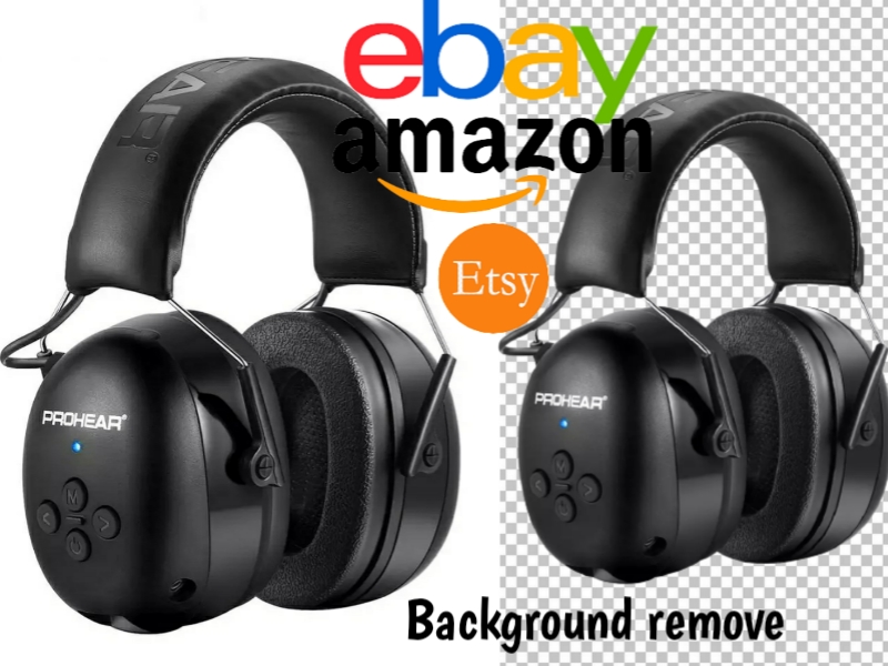 I will background removal 5 image in amazon store