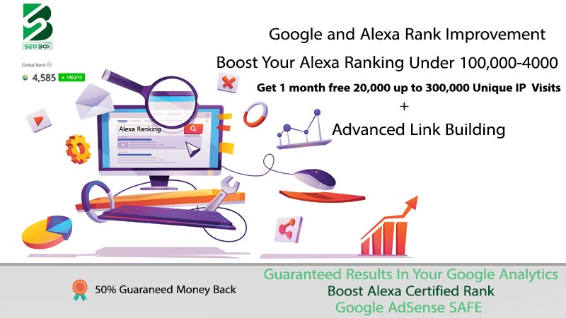 Boost your Google and Alexa Rank - Last updated methods of 2021
