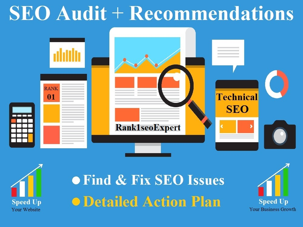 SEO Audit the best Site Audit Report for your Website and Action Plan