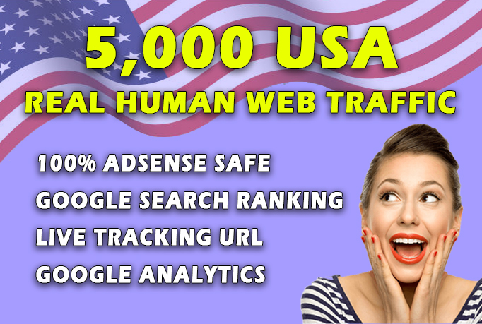 AdSense safe USA TARGETED Real Human Web Traffic By Search Engine