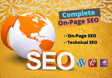 I will do Onpage SEO and technical optimization service of WordPress website