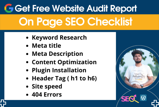 I will do full ON Page SEO for your website in 21 days