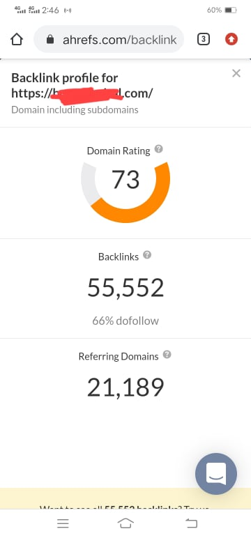 Increase domain rating, increase ahrefs domain rating, increase DR upto 45 plus