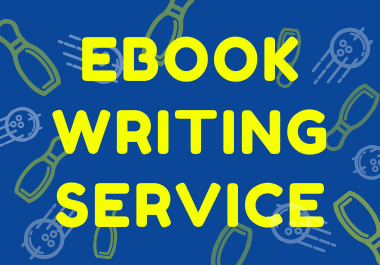 I will write a book or ebook of 5000 words for you.