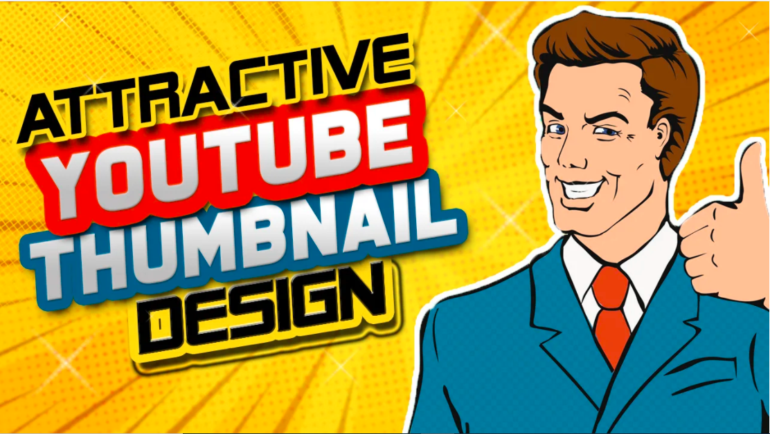 I will design attractive youtube thumbnails within 2 hours