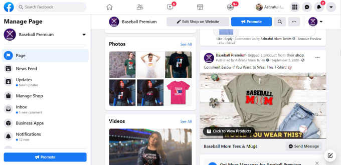 I will promote your Facebook Business page & maintain