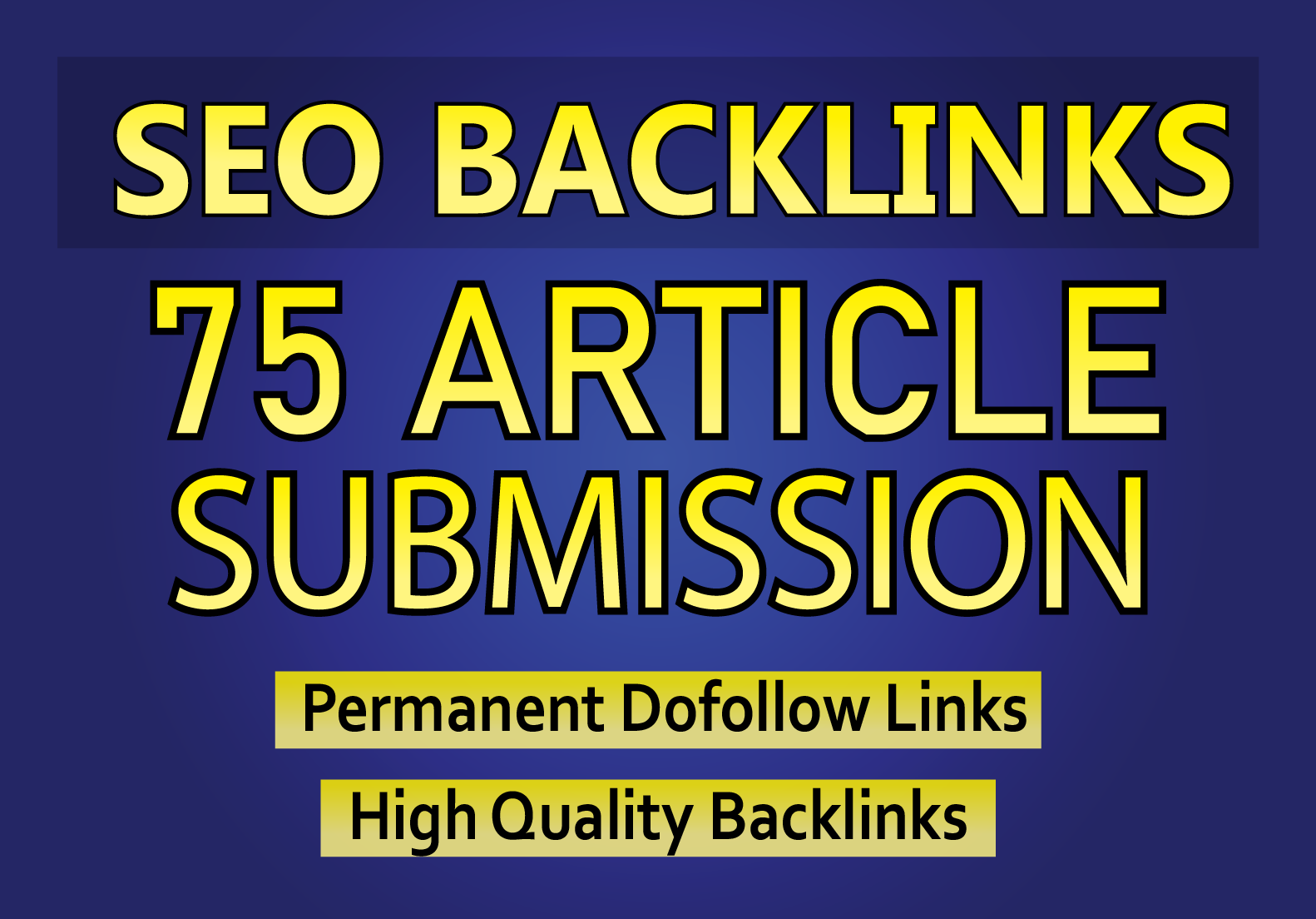 I Will do 75 Article Submission With Unique Domain in 5