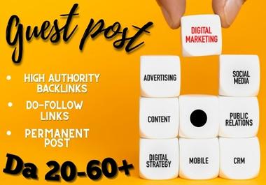 Digital Marketing Guest Post On High DA website with Do-Follow link