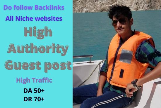 I will publish tech guest post high da 50 on my technology blog