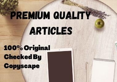 Get Premium Quality SEO Articles For Your Blog & Link Building