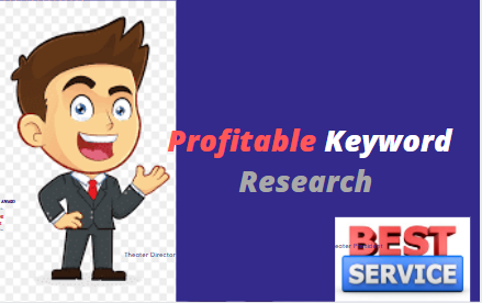I will do best long tall Profitable Keyword Research for you website & Business