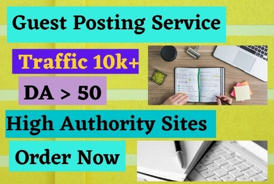I will write and publish your article on a high da blog