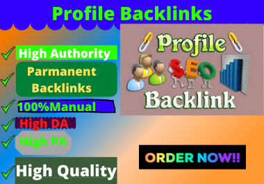 80 Profile Backlinks High Authority Permanent Dofollow extraordinary area white cap website design e
