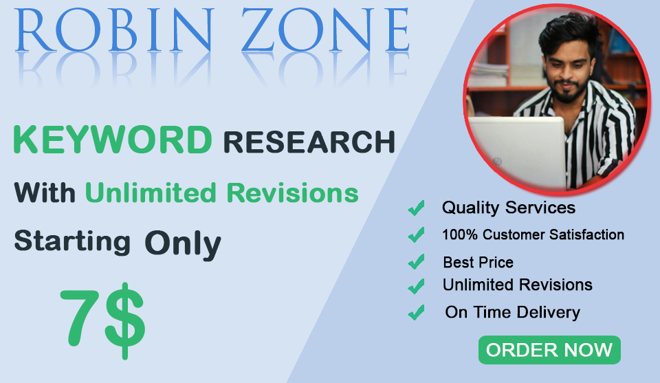 I will do SEO keyword research and competitor analysis to get your website ranked faster