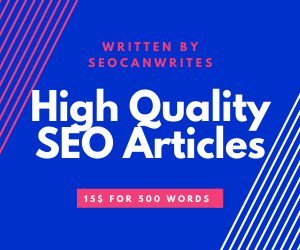We write only unique content that gets you high rankings