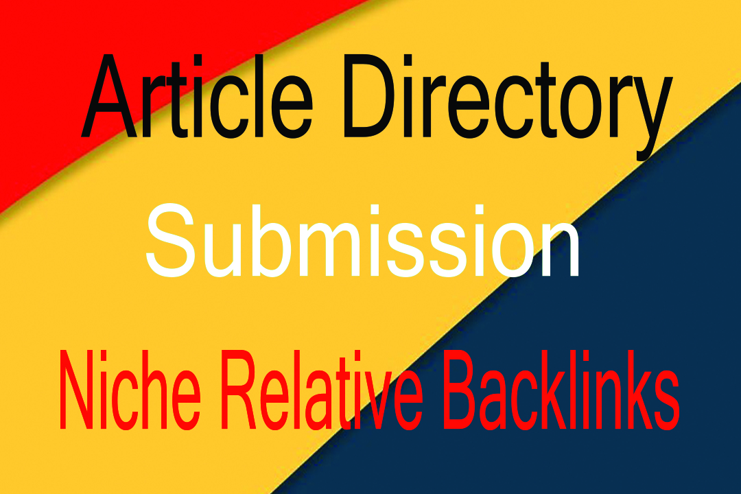 I Will Build 3000 Article Directory Backlinks