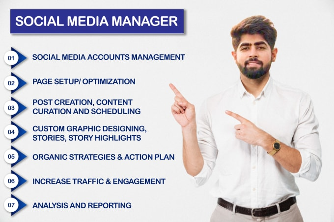 I will be your social media manager & personal assistant for your business