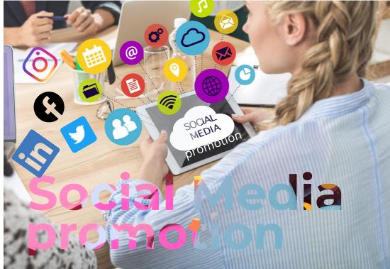 I will do social media promotion