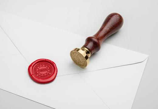 I will create a unique seal,  stamp design