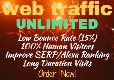 UNLIMITED Website EXPOSURE NICHE/KEYWORDS Targeted FOR 30 DAYS
