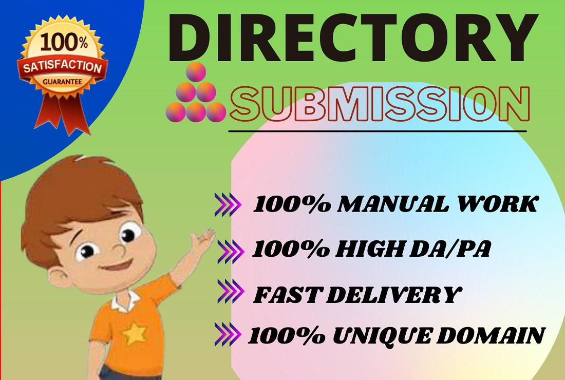 I will provide 50 Directory submission backlinks to the high DA PA journal.