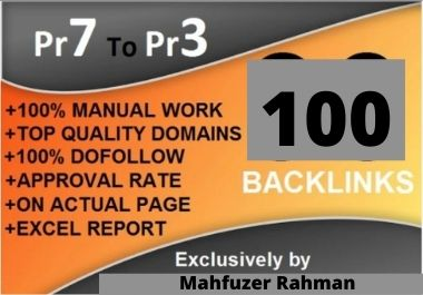 I will create 100 dofollow backlinks blog comments